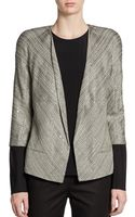 Lafayette 148 New York Sequined Tweed Jacket - Lyst