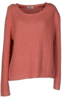 Acne Studios Long Sleeve Jumper - Lyst