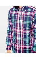 Gant Rugger Shirt in Madras Check - Lyst