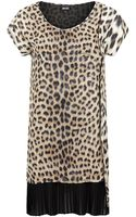Just Cavalli Leopard Print Tunic Top - Lyst