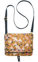 Fossil Keyper Mini Flap Crossbody - Lyst