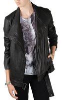 Helmut Lang Cluster Leather Jacket - Lyst