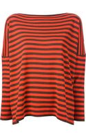 Daniela Gregis Oversize Striped Sweater - Lyst
