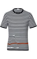 Jil Sander Cotton Striped T-shirt - Lyst