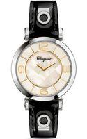 Ferragamo Gancino Deco Stainless Steel Watch 39mm - Lyst