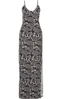 Matthew Williamson Starprint Silk Gown - Lyst