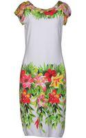 Blumarine Knee-length Dress - Lyst
