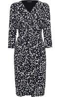 James Lakeland 3/4 Sleeve Print Dress - Lyst