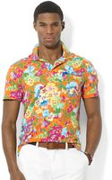 Polo Ralph Lauren Polo Floral Jersey Polo - Lyst