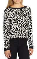 Generation Love Leopard-print Sweater - Lyst