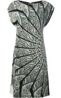 Etro Paisley Jersey Dress - Lyst