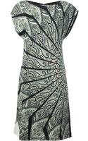 Etro Paisley Jersey Dress - Lyst