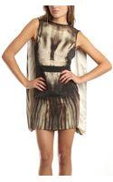McQ by Alexander McQueen Sleeveless Dress in Oat - Lyst