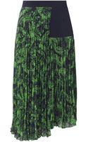 Whistles Anais Floral Asymetrical Skirt - Lyst