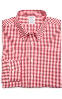 Brooks Brothers Non-iron Slim Fit Gingham Sport Shirt - Lyst