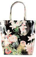 Ted Baker Opulent Bloom Printed Shopper - Lyst