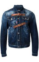 DSquared2 Denim Jacket - Lyst