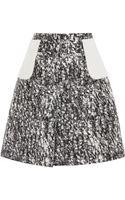 Giambattista Valli Skirt with Center Fold - Lyst