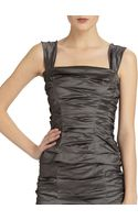 Donna Karan New York Crushed Corselette Top - Lyst