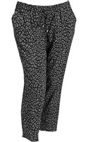Old Navy Plus Drapey Cropped Pants - Lyst