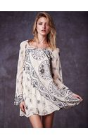 Free People My Beloved Georgette Dress - Lyst
