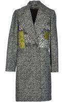 Diane Von Furstenberg Fulllength Jacket - Lyst