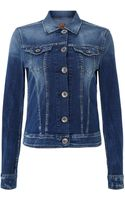 Replay Light Denim Jacket with Buttons - Lyst