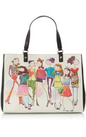 Love Moschino Black Large Charming Tote Bag - Lyst