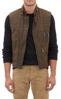 Ralph Lauren Black Label Canvas Racing Vest - Lyst