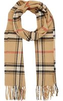 Barneys New York Plaid Scarf - Lyst