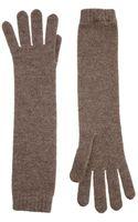 Johnstons Cashmere Long Gloves - Lyst