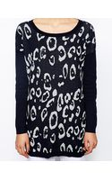 Oasis Animal Knitted Jumper - Lyst