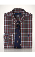 Polo Ralph Lauren Slim-fit Tartan Shirt - Lyst