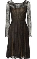 Oscar de la Renta Lace Dress - Lyst