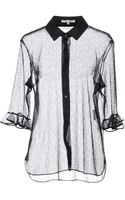 Carven Shirt with 34length Sleeves - Lyst