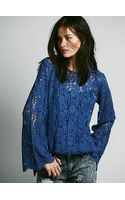 Free People Infinite Arms Lace Tunic - Lyst