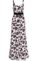 Marni Floralprint Cottonpoplin Maxi Dress - Lyst