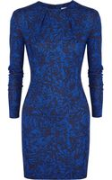 Matthew Williamson Printed Stretch-jersey Mini Dress - Lyst