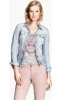 H&M Denim Jacket - Lyst