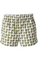 Dolce & Gabbana Sicilia Swimming Shorts - Lyst