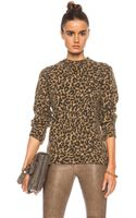 Each X Other Leopard Print Alpaca-blend Sweater - Lyst