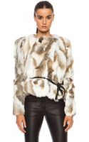 Isabel Marant Anise Steppe Fur Jacket - Lyst