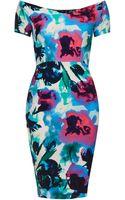Topshop Jane Bodycon Dress By Tfnc - Lyst