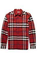 Burberry Brit Slimfit Check Cotton Shirt - Lyst