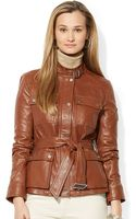Lauren by Ralph Lauren Monza Leather - Lyst