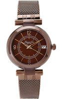 Kenneth Cole Brown Watch - Lyst