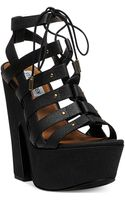 Steve Madden Womens Gagga Platform Wedge Sandals - Lyst
