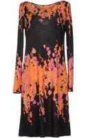 Blumarine Kneelength Dress - Lyst