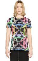 Versus  Baroque Printed Cotton Jersey Tshirt - Lyst