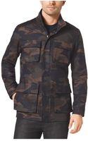Michael Kors Camouflageprint Utility Jacket - Lyst